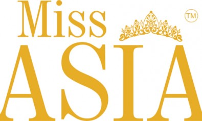 Miss Asia Logo Golden