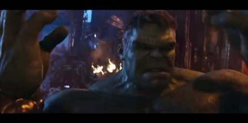 "Avengers Infinity War ""We Have A Hulk"" Behind the Scenes"