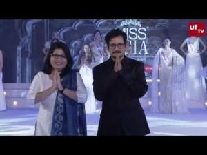 Dr. Ajit Ravi Pegasus & Jebitha Ajit on Miss Asia 2018 Ramp