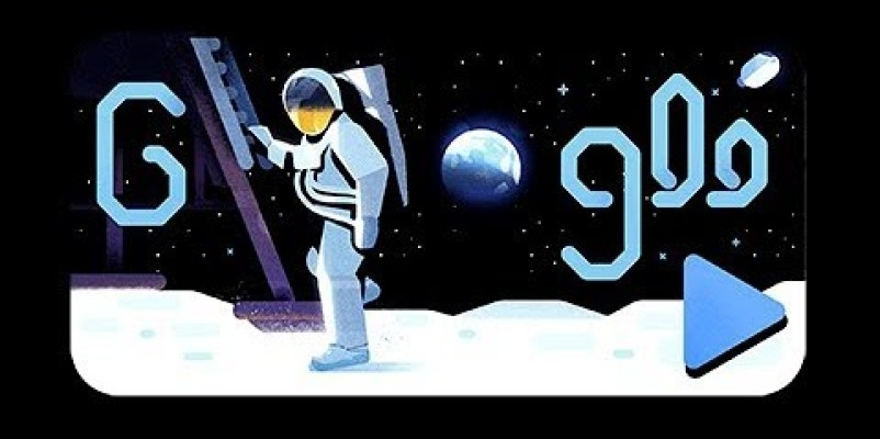 Google Doodle marks Apollo 11′s 50th anniversary of moon landing