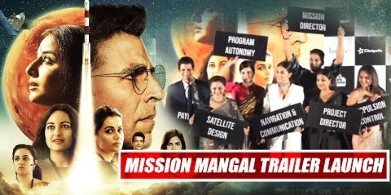 Trailer of Mission Mangal is out